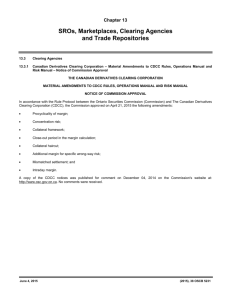 Notice of Commission Approval - Canadian Derivatives Clearing