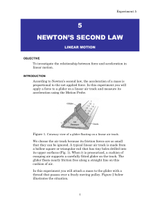 5 NEWTON'S SECOND LAW