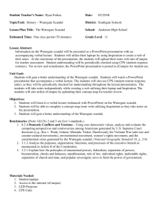 Thesis statement on the watergate scandal resume tips 2011 value proposition