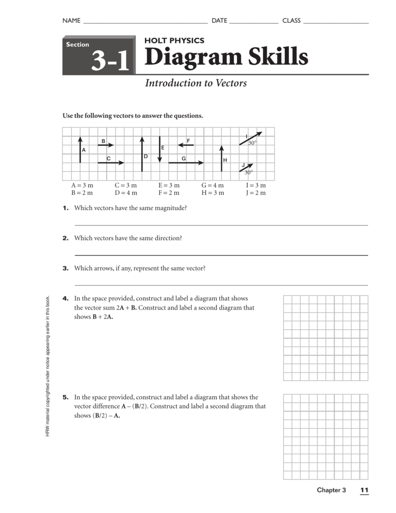 31 Holt Physics Diagram Skills Answers