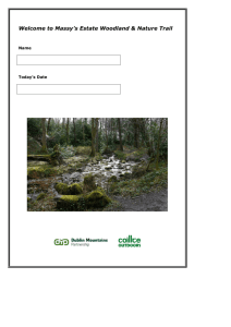 Nature trail - Dublin Mountains Partnership