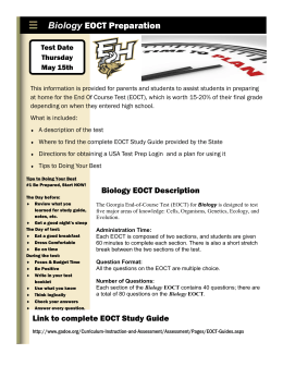 eoct analytic geometry study guide rh studylib net Modern Biology Chapter 13 STP Biology Workbook Chapter 13 3 Answer Key