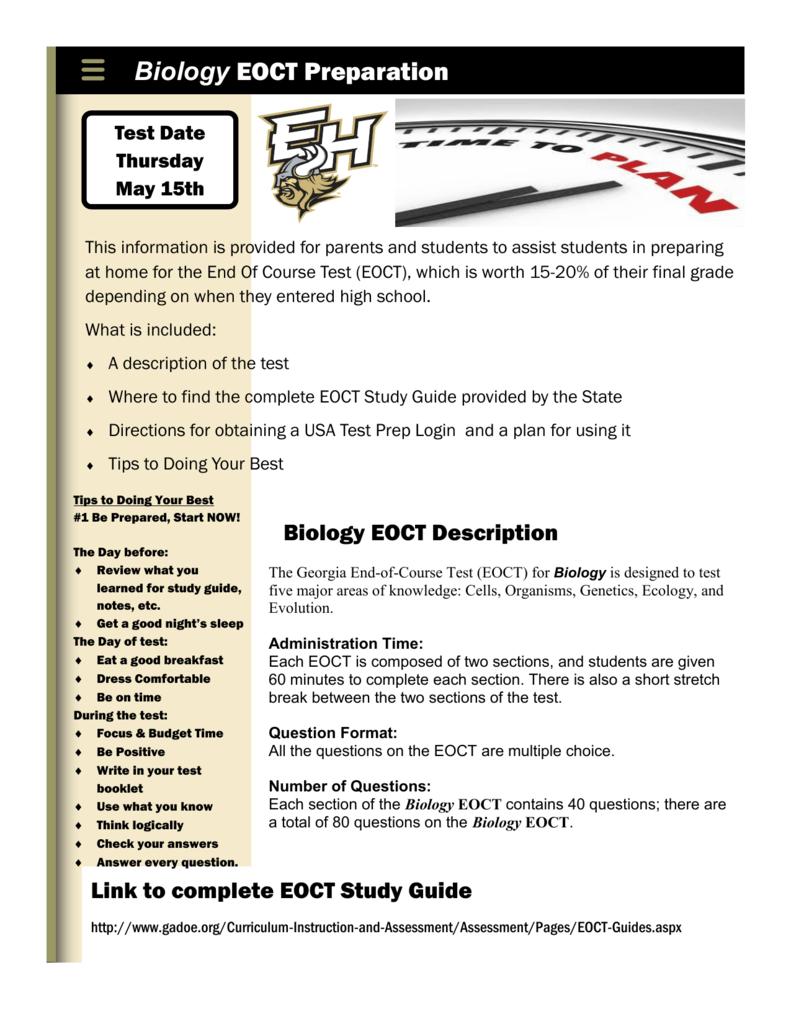 biology eoct preparation rh studylib net