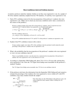 AP Statistics Quiz A – Chapter 19