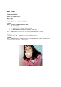 Bubble Gum Blast - Young People's Ministry