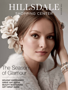 The Season of Glamour - Hillsdale Shopping Center