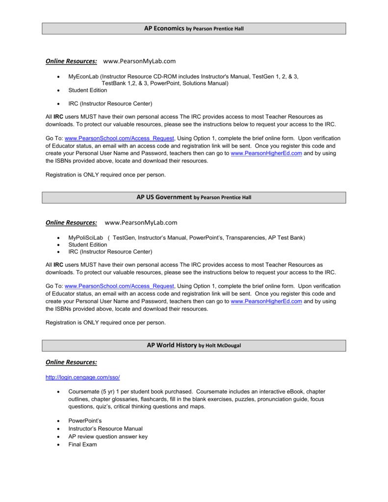 holt mcdougal online registration key code