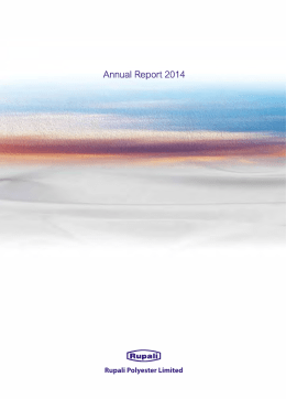 Rupali Annual Report 2014