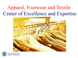 Apparel, Footwear and Textile Center of Excellence and