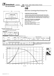 replacement parts guide / service parts on
