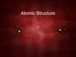 Atomic Structure B