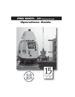 Pro Shot L4.7 - Accurate Instruments