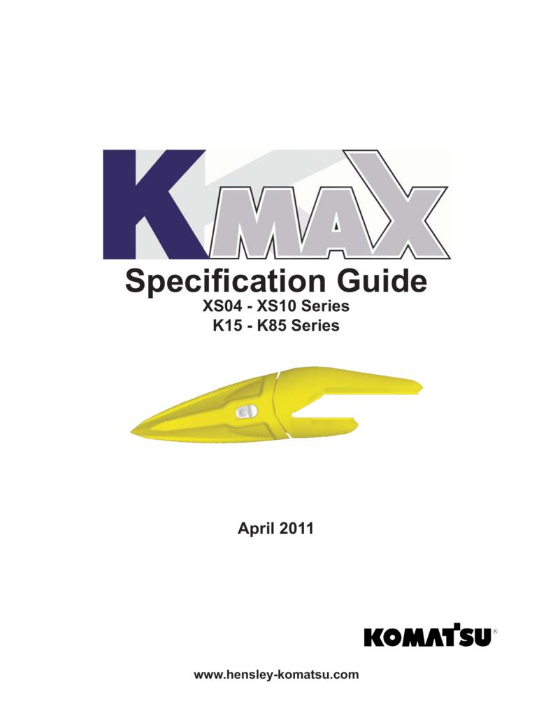 Kmax Spec Sheets Wa250 Komatsu Wiring Diagram