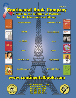 French 2016.indb - Continental Book Company