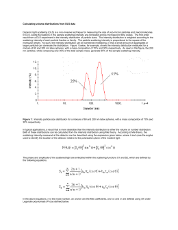 "Printing ""Calculating volume distributions from DLS data"""