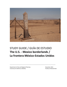 STUDY GUIDE / GUÍA DE ESTUDIO The US