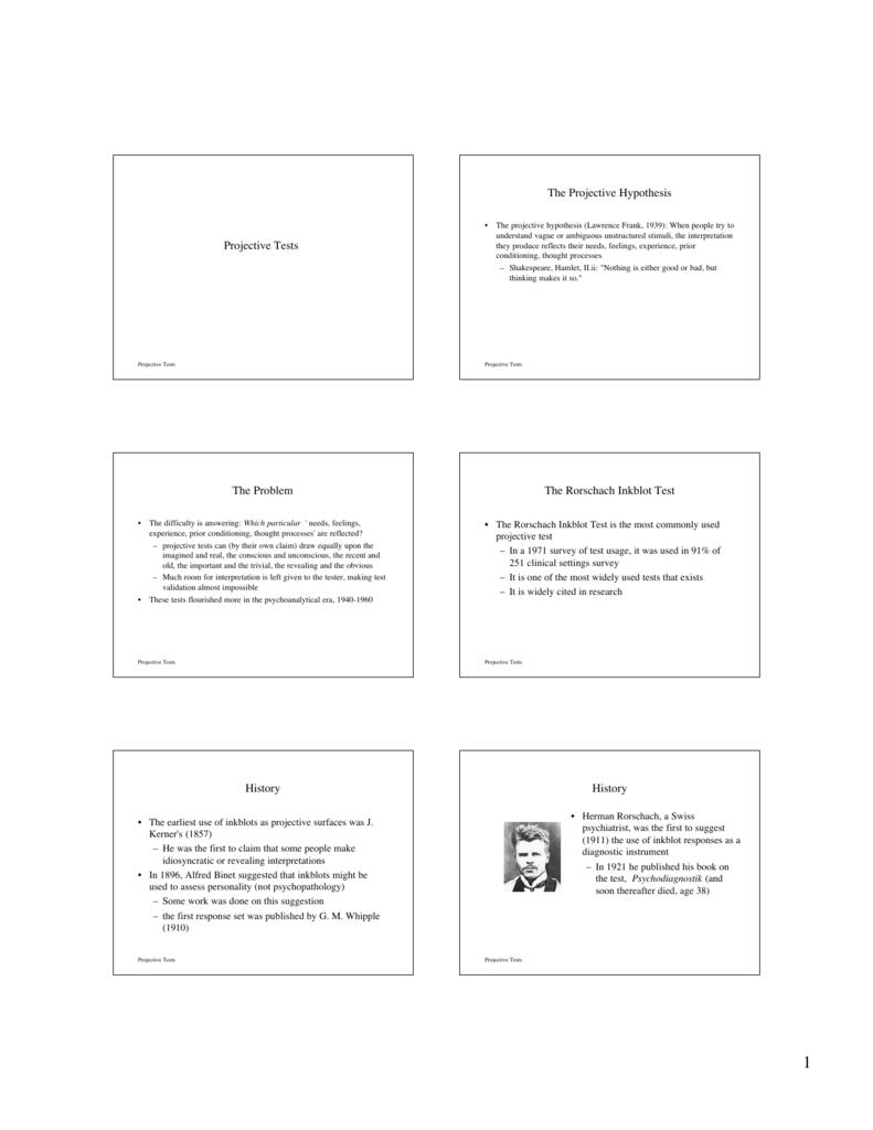 inkblot answers