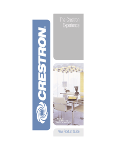 The Crestron Experience