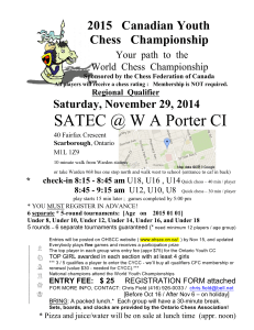SATEC @ W A Porter CI - Ontario High School Chess Championship