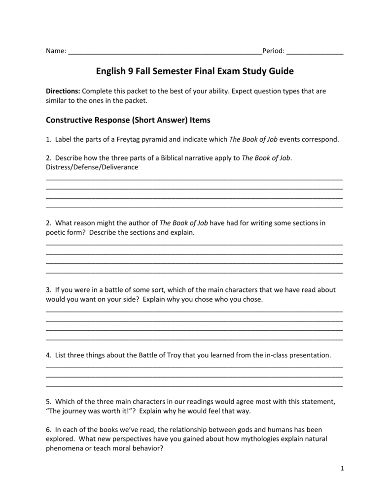 final exam study guide fall semester 2012 essay This is your one stop for ap us history final exam ap essay topics civil rights had to navigate how to get students to study sessions in the spring semester.