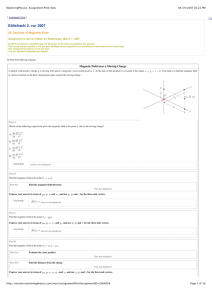 MasteringPhysics: Assignment Print View