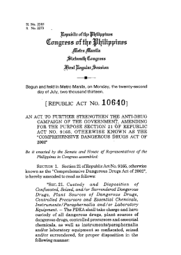 Republic Act No. 10640