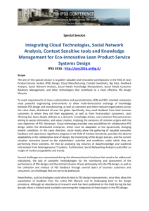 Integrating Cloud Technologies, Social Network Analysis