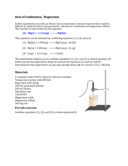 magnesium oxide lab answers