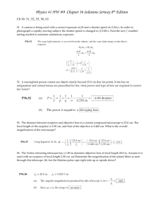 Physics 41 Chapter 36 HW Solutions Serway 7th Edition