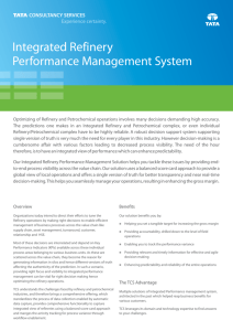 Integrated Refinery Performance Management System