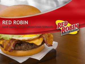 red robin - InMoment