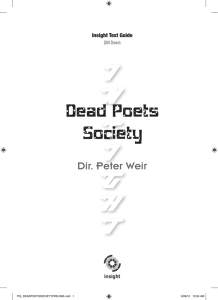 Dead Poets Society - Insight Publications