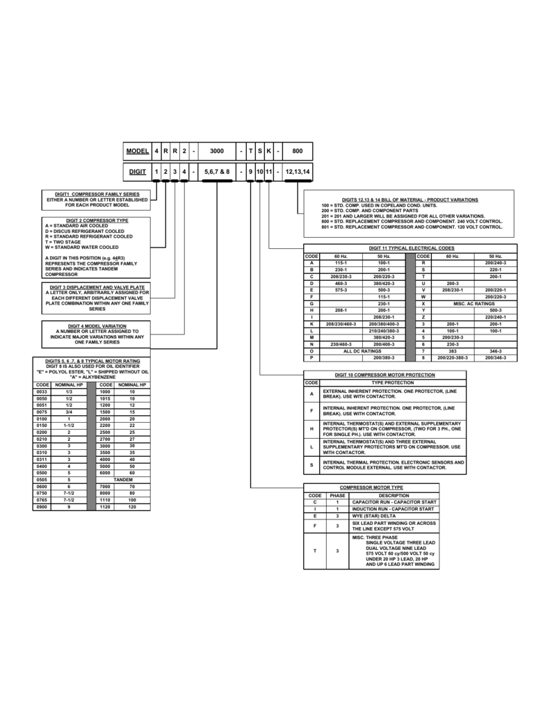 Capacitor Start Single Phase Compressor Wiring Diagram Capacitor