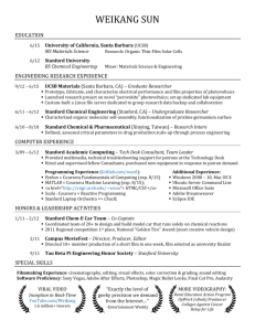 Resume - UCSB Computer Science - University of California, Santa