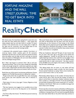 Realty Check - The Heinrich Team
