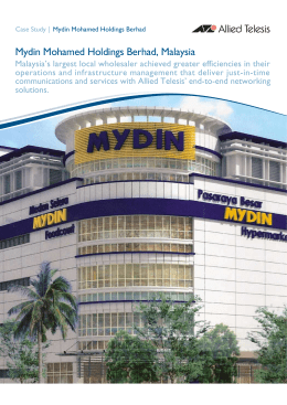 mydin mohamed holdings berhad essay Contents mydin mohamed holdings bhd - malaysia omniscience's retailer analysis market research reports were originally introduced in 1977 and since then these reports have de.
