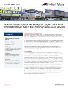 Success Story: Mydin Mohamed Holdings Berhad