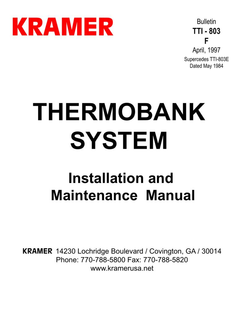 kramer refrigeration wiring diagram wiring diagramkramer thermobank systemkramer refrigeration wiring diagram 18