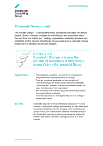 Corporate Development - Innotiimi-ICG