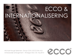 ECCO Corporate Presentation