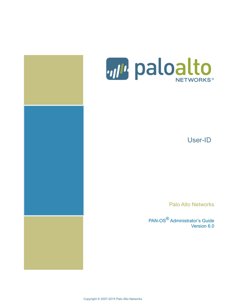 User-ID - Palo Alto Networks