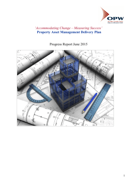 Property Asset Management Delivery Plan Progress Report June 2015