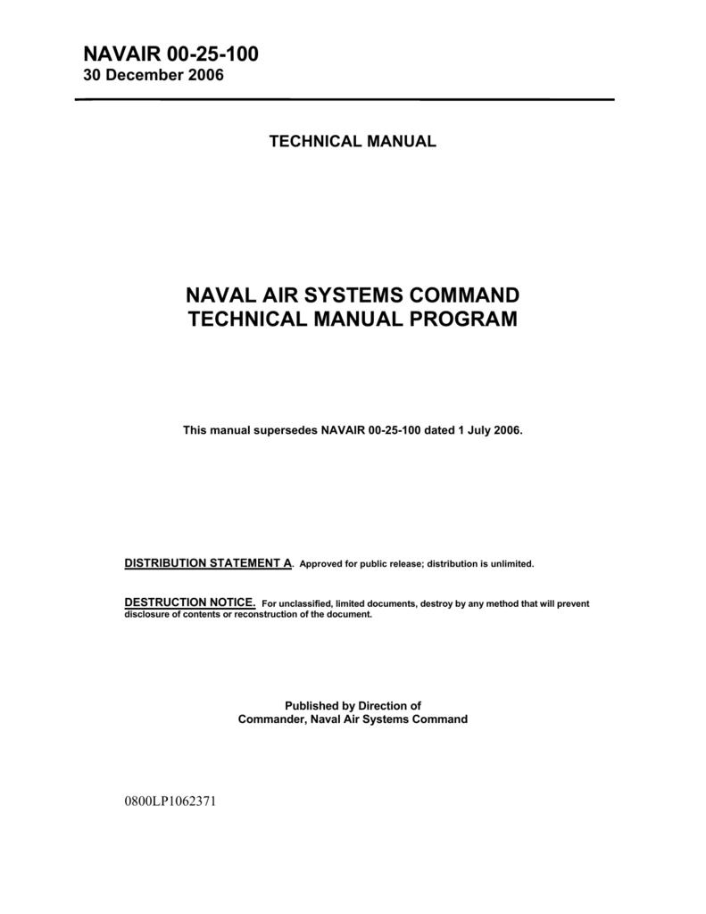 navair 00 25 100 rh studylib net Navy Natec Website NAVAIR Scott Williams