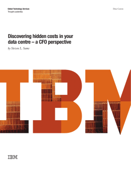 Discovering hidden costs in your data centre – a