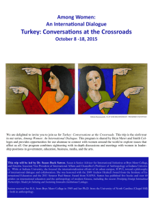 Turkey: Conversations at the Crossroads