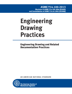 Engineering Drawing Practices - American Society of Mechanical