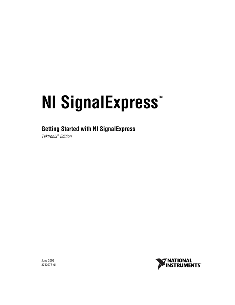 National instruments labview signalexpress tekt. | element14.