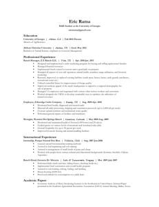 Resume – PDF - UGA College of Agricultural and Environmental