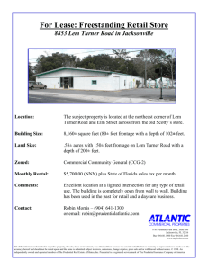 For Lease: Freestanding Retail Store