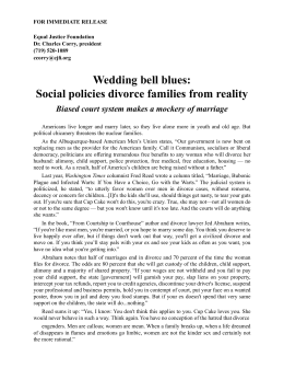 Social policies divorce families from reality